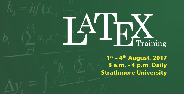 Training on LaTeX for Academic and Scientific Writing
