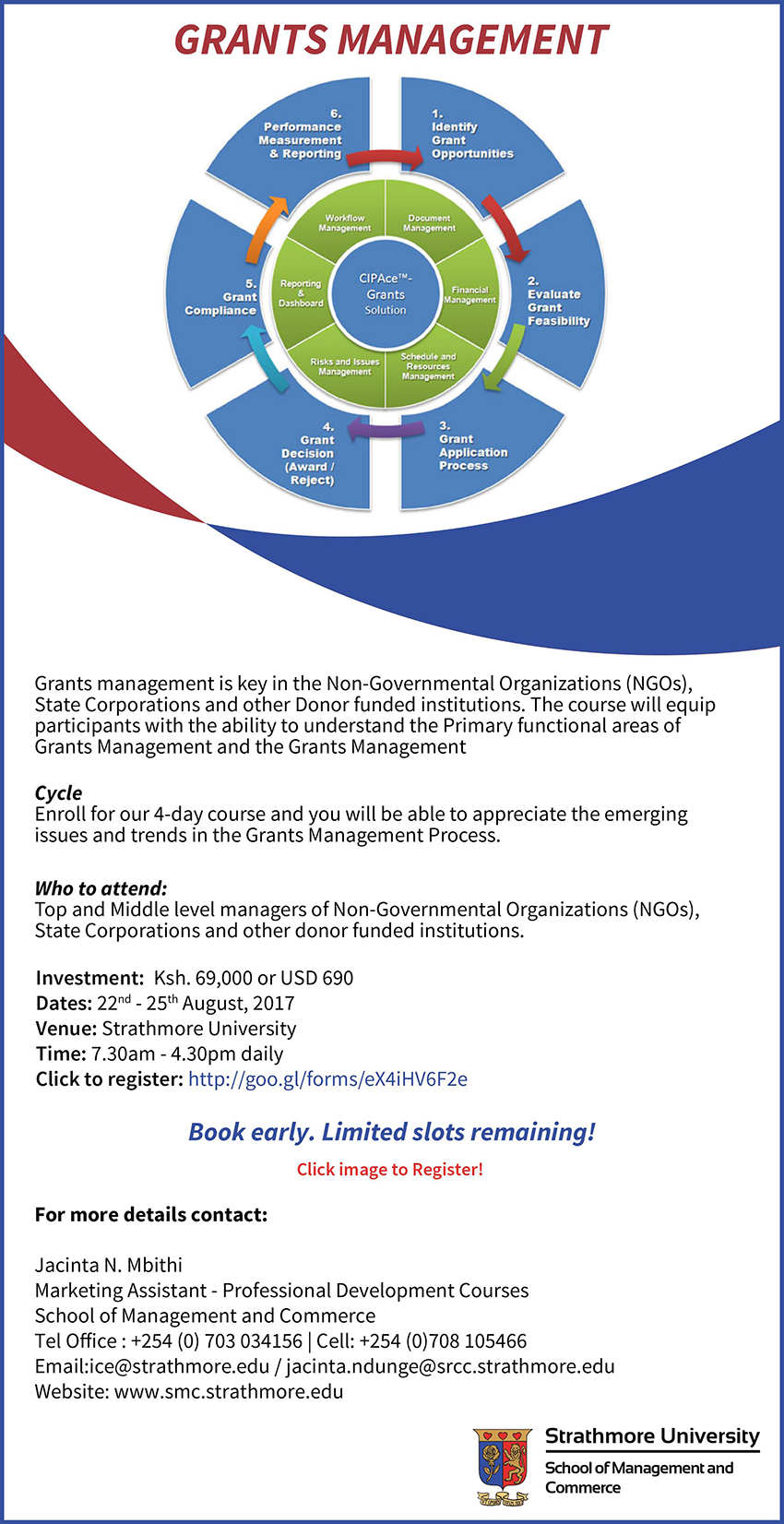 Technology Management Image: Grants Management Course