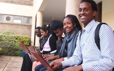 Strathmore University gives Students Laptops to Facilitate